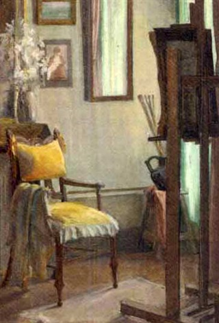 the yellow chair by madelaine moride