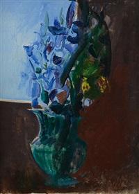 fiori nel vaso verde by gastone breddo