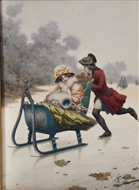 sleigh ride by giuseppe aureli