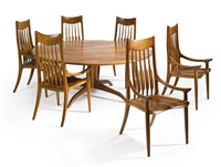 armchairs (set of 10) by sam maloof