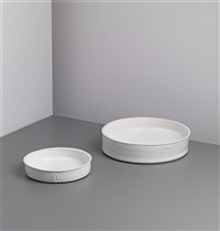 dishes (2 works) by edmund de waal