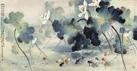 千顷荷香 by huang leisheng