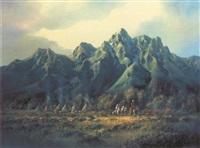 teton encampment by charles h. pabst
