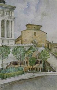 roma s.maria in aracoeli by pompeo fabri