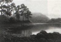 friars crag, derwentwater by everett w. mellor