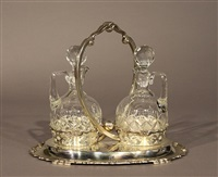 decanter holder (+ 2 others; 3 works) by topazio casquinna (co.)