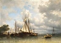 vitorlások a kikötőben by antonie waldorp