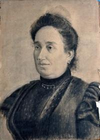 ritratto femminile by gaetano forte