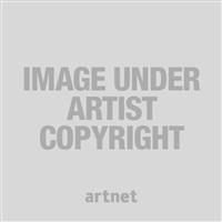 sans titre fond gris by bernard requichot