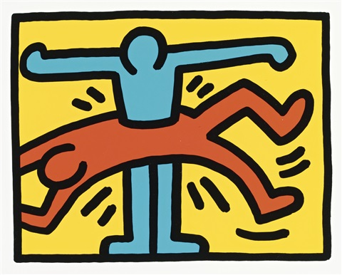 pop shop vi 4 works by keith haring