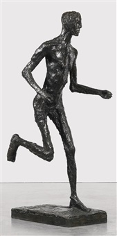 le coureur, moyen by germaine richier