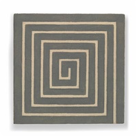 greek key by frank stella