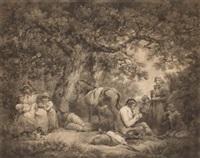campesinos (+ viajeros; pair) by william ward