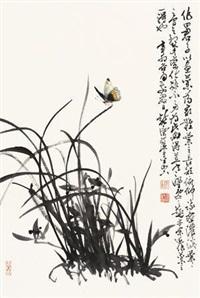 花鸟 by xu chunyuan