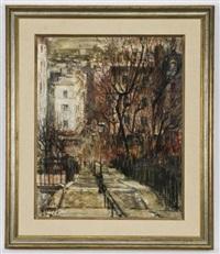 escaleres-montmartre, paris by miguel llabres