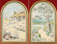 vierge inconnue et vierge ignorée (+ 150 printemps et 15; 2 works) by andre des gachons