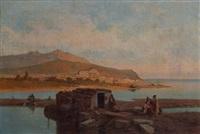paysage du golfe de gascogne by françois antoine bossuet