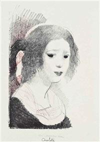 charlotte brontë, from: the brontë sisters by marie laurencin