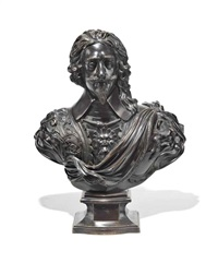 bust of king charles i by hubert le sueur