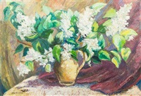 vase of flowers by jane peterson
