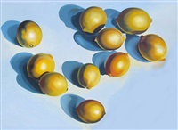 ten lemons on blue by lowell blair newsbitt