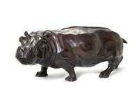 a hippopotamus by josé-maria david