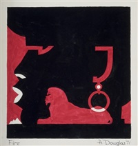 fire!! by aaron douglas