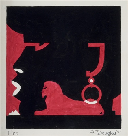 fire by aaron douglas