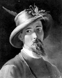 portrait eines jungen mannes by johann till the younger