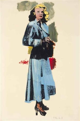 patricia knight by richard hamilton