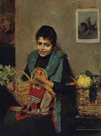 home from the market by adolfo bacci