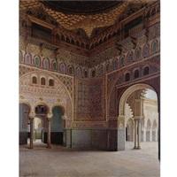 moorish interior by f. liger hidalgo