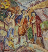les musiciens by ilya kagan