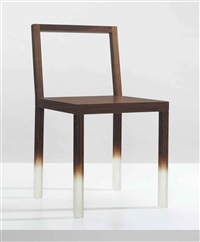 a fadeout chair by nendo