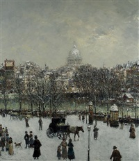 winter in paris by horst altermann