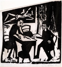 opponent by erich heckel