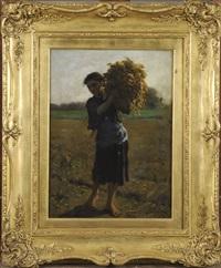la faneuse by jules breton