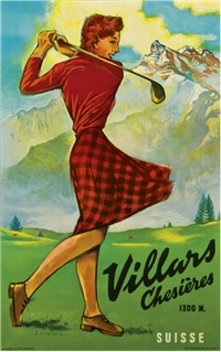 villars, chesieres, suisse by samuel henchoz
