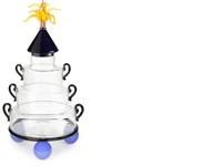 footed jar by david levi