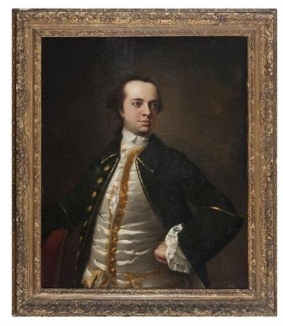 portrait dun gentilhomme by anton raphael mengs