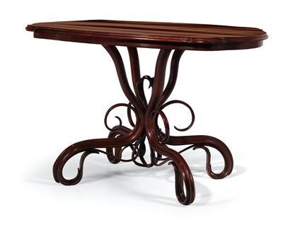 Superb Oval Art Nouveau Table By Thonet Co On Artnet Download Free Architecture Designs Photstoregrimeyleaguecom