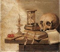 a vanitas still-life by harmen van steenwyck