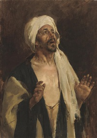 a prayer to allah by enrique simonet castro