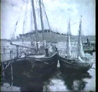 lunenberg harbour by phyllis m. percival