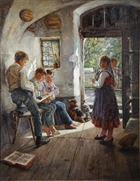 preparing for the lesson by hugo loffler