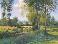 scène champêtre by maurice lemaître