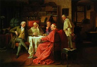 the debate by josef wagner hohenberg