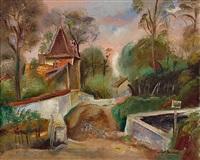 paysage de chellis by robert bouchet