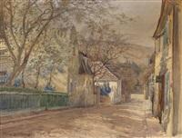 das therese kroneshaus in heiligenstadt by hans götzinger
