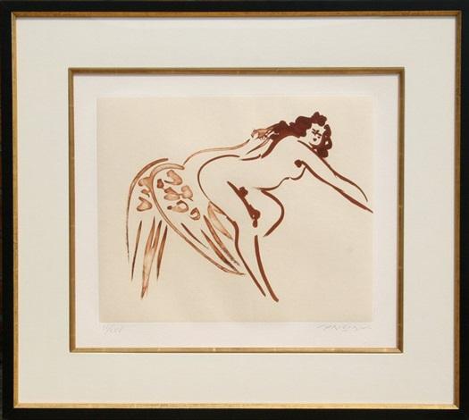 leda and the swan 7 by reuben nakian